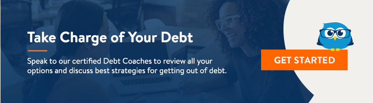 Speak to our certified Debt Coaches to review all of your options and discuss best strategies for getting out of debt.